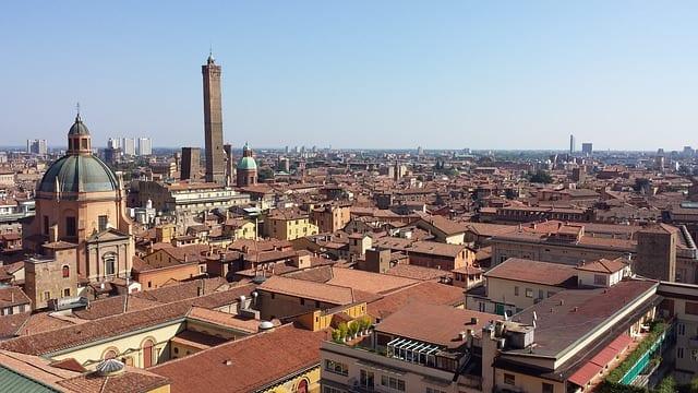 bologna roofs overview