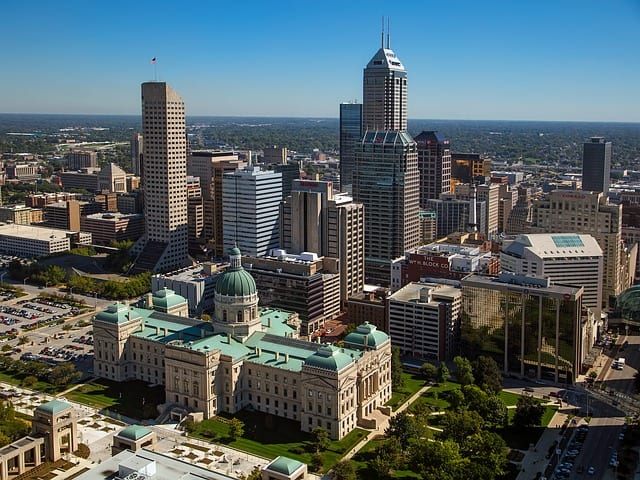 indianapolis indiana stadt