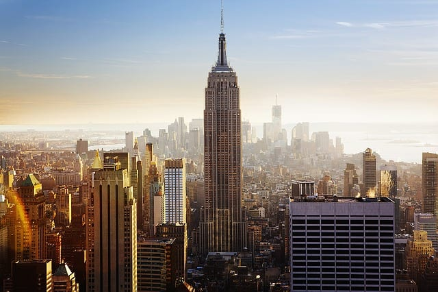 empire state building vereinigte staaten new york city