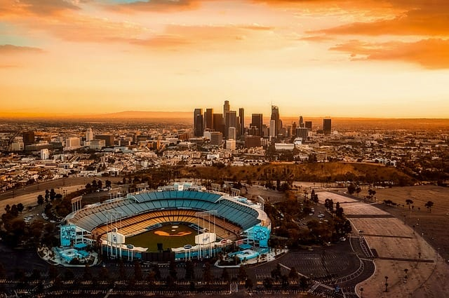 los angeles california dodger stadium