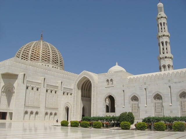 muscat oman moschee