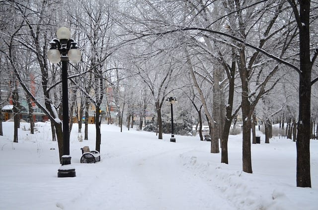 winnipeg kanada winter
